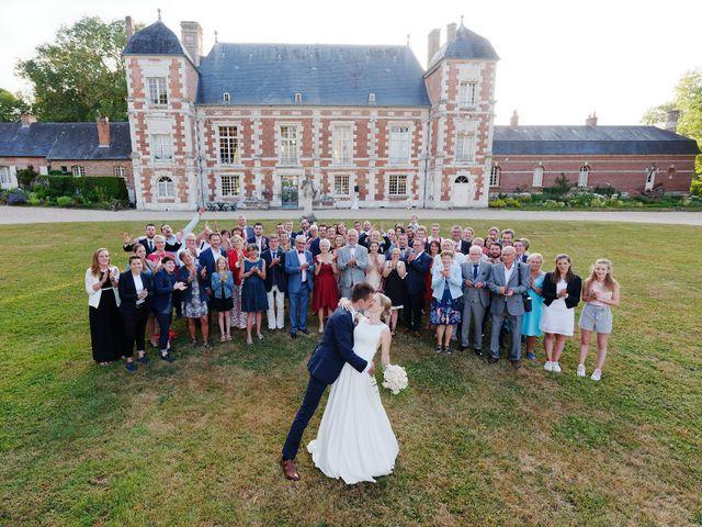 Le mariage de Benjamin et Justine à Radepont, Eure 19