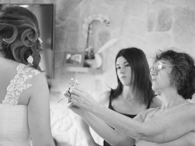 Le mariage de Valentin et Mathilde à Chamousset, Savoie 12