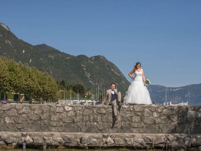 Le mariage de Valentin et Mathilde à Chamousset, Savoie 13
