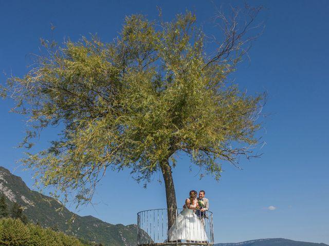 Le mariage de Valentin et Mathilde à Chamousset, Savoie 14