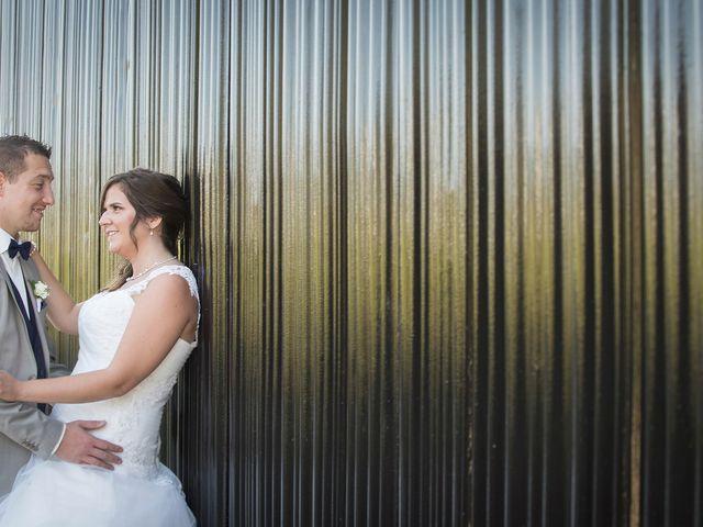Le mariage de Valentin et Mathilde à Chamousset, Savoie 20