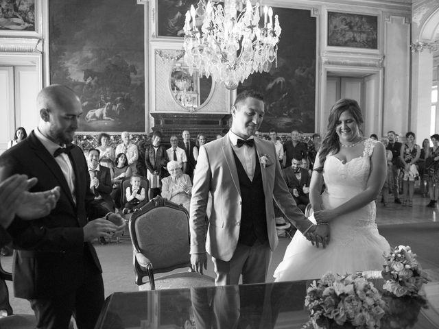 Le mariage de Valentin et Mathilde à Chamousset, Savoie 28