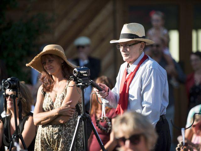 Le mariage de Valentin et Mathilde à Chamousset, Savoie 52