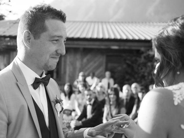 Le mariage de Valentin et Mathilde à Chamousset, Savoie 57