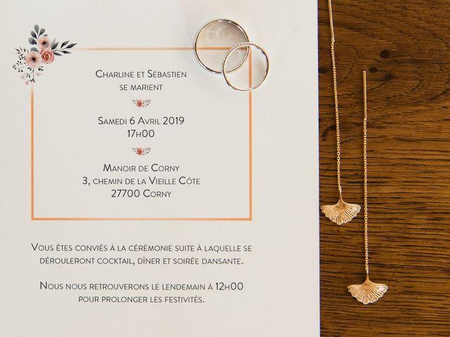 Le mariage de Sébastien et Charline à Corny, Eure 12