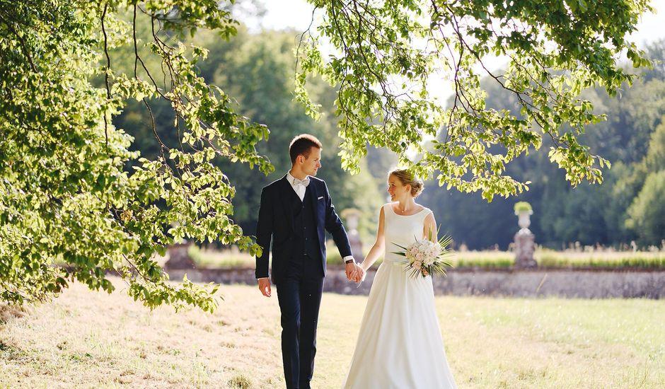 Le mariage de Benjamin et Justine à Radepont, Eure