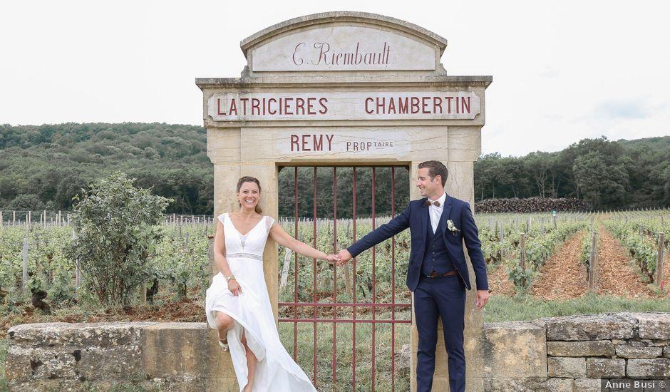 Le mariage de Emmanuel et Pauline à Gevrey-Chambertin, Côte d'Or