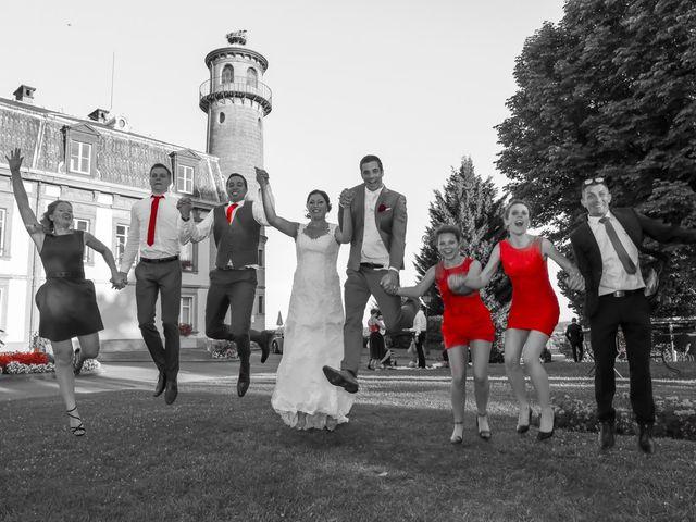 Le mariage de Vincent et Amélie à Wettolsheim, Haut Rhin 1