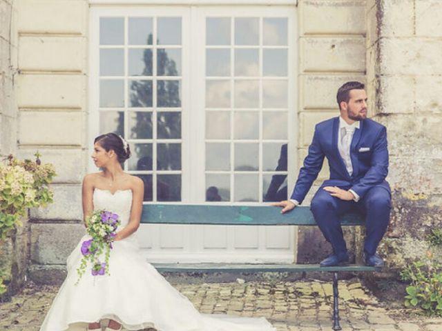 Le mariage de Mélissa et Baptiste et Melissa à Beaumont-en-Véron, Indre-et-Loire 26