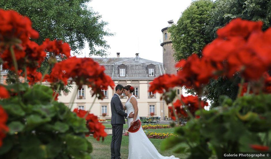 Le mariage de Vincent et Amélie à Wettolsheim, Haut Rhin
