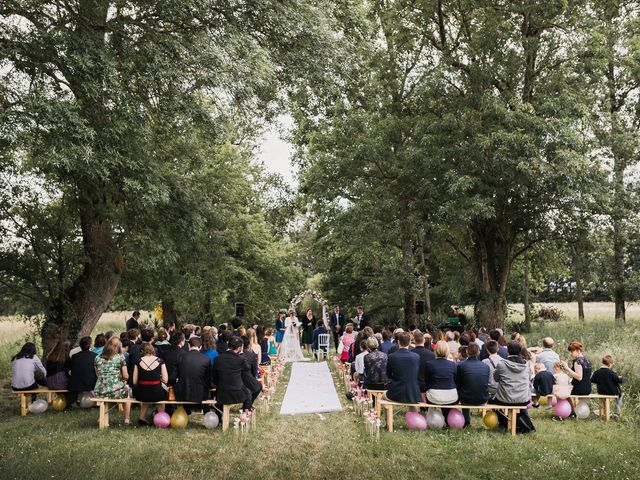 Le mariage de Romain et Marine à Landemont, Maine et Loire 57