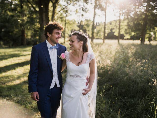 Le mariage de Romain et Marine à Landemont, Maine et Loire 86