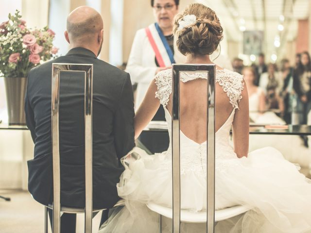 Le mariage de Benjamin et Léa à Fougeré, Vendée 17