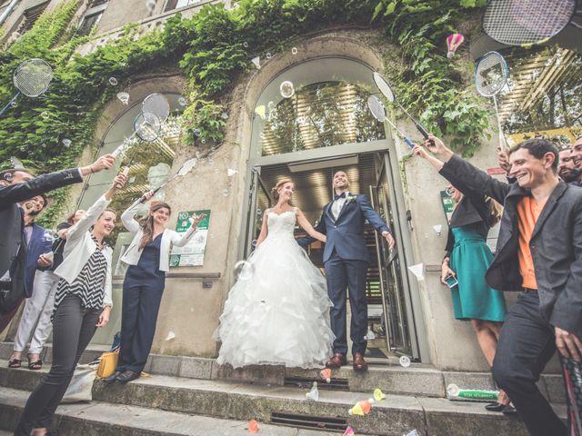 Le mariage de Benjamin et Léa à Fougeré, Vendée 27