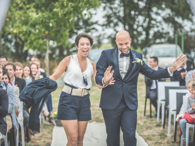 Le mariage de Benjamin et Léa à Fougeré, Vendée 43