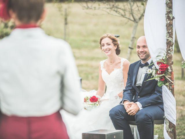 Le mariage de Benjamin et Léa à Fougeré, Vendée 45