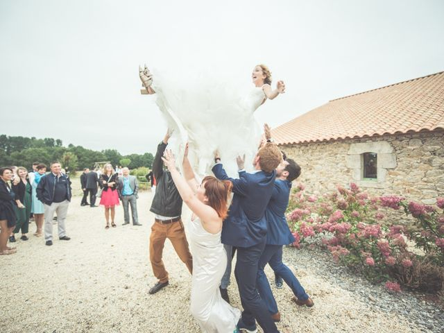 Le mariage de Benjamin et Léa à Fougeré, Vendée 65