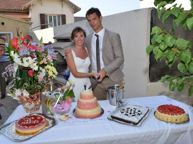 Le mariage de Thibault et Marlène à Le Castellet, Var 6