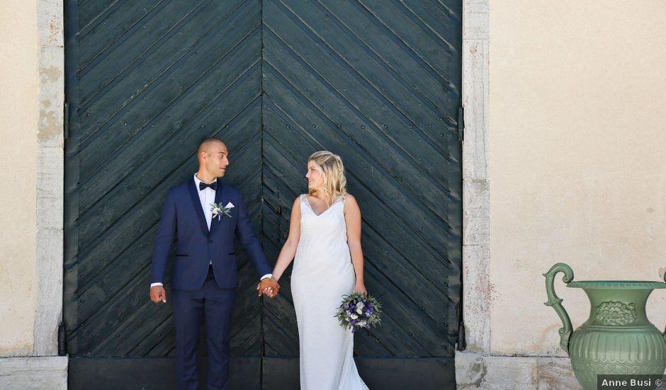 Le mariage de Adrien et Sophie à Poligny, Jura