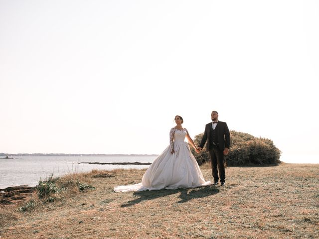 Le mariage de Mohamed et Mélodie à Larmor-Plage, Morbihan 60