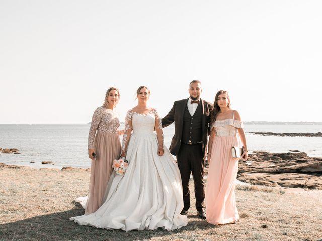 Le mariage de Mohamed et Mélodie à Larmor-Plage, Morbihan 70