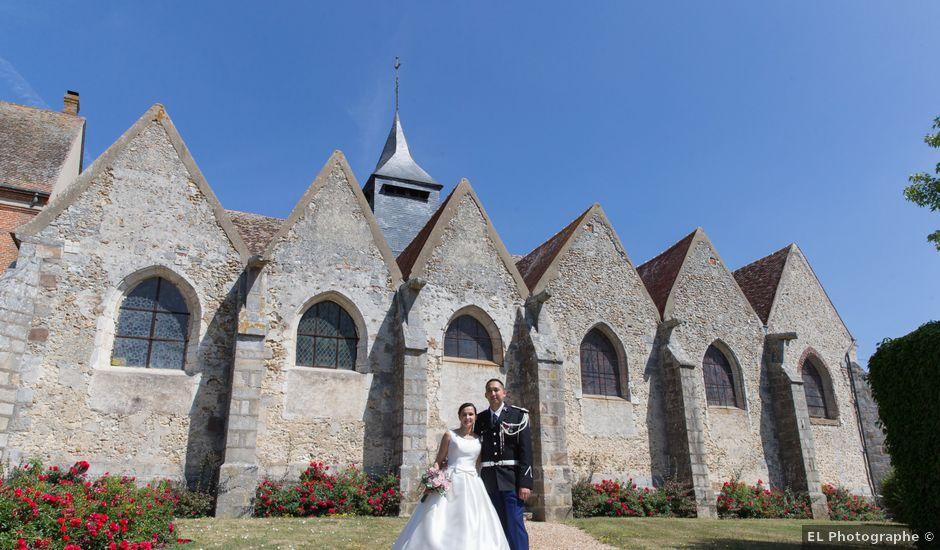 Le mariage de Pierre-Marie et Angéline à Néron, Eure-et-Loir