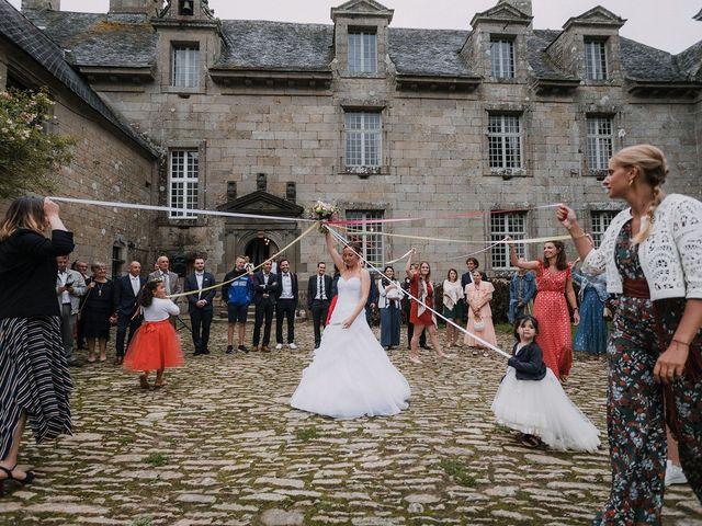 Le mariage de Florian et Maëlle à Bohars, Finistère 123