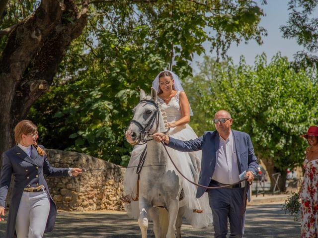 Le mariage de Yohann et Maëva à Sauzet, Gard 3