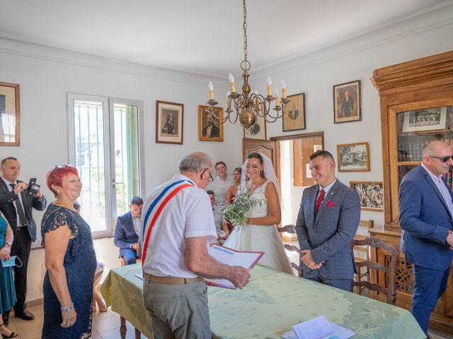 Le mariage de Yohann et Maëva à Sauzet, Gard 7