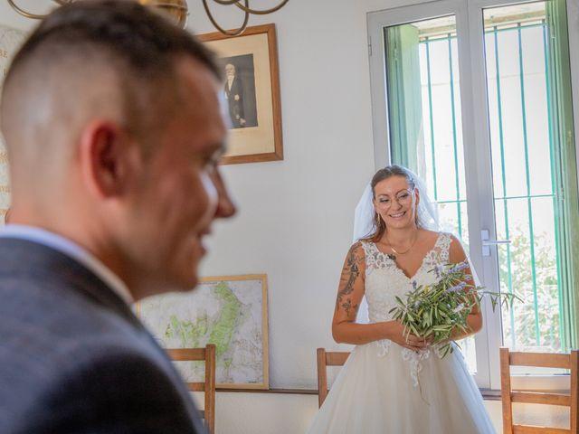 Le mariage de Yohann et Maëva à Sauzet, Gard 10