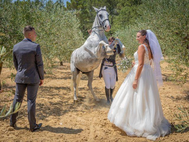 Le mariage de Yohann et Maëva à Sauzet, Gard 13