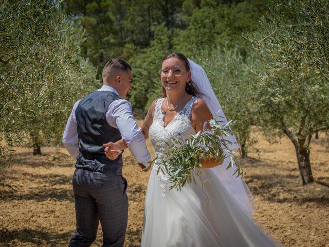 Le mariage de Yohann et Maëva à Sauzet, Gard 15