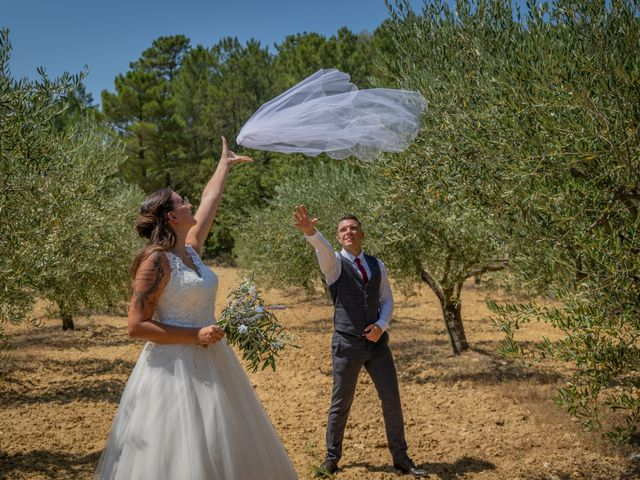 Le mariage de Yohann et Maëva à Sauzet, Gard 17