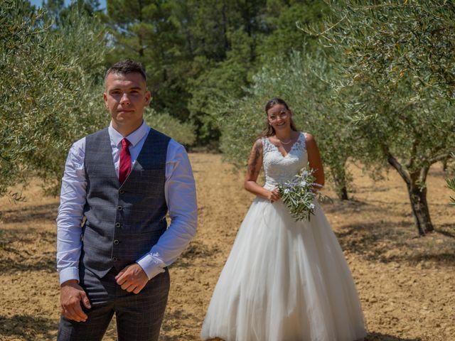 Le mariage de Yohann et Maëva à Sauzet, Gard 18