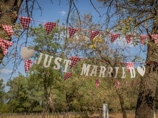 Le mariage de Yohann et Maëva à Sauzet, Gard 28