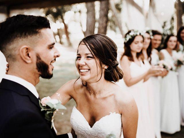 Le mariage de Thomas et Marina à Le Castellet, Var 75