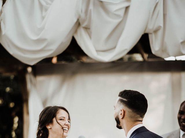 Le mariage de Thomas et Marina à Le Castellet, Var 91