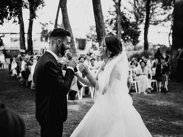 Le mariage de Thomas et Marina à Le Castellet, Var 93
