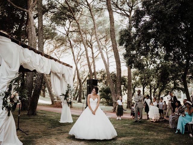 Le mariage de Thomas et Marina à Le Castellet, Var 95
