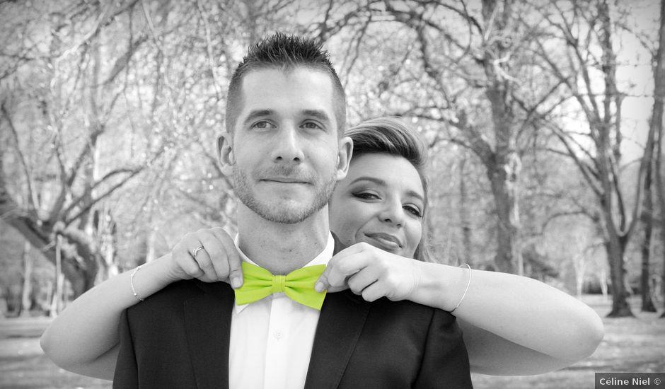 Le mariage de Eric et Perrine à Courgenay, Yonne