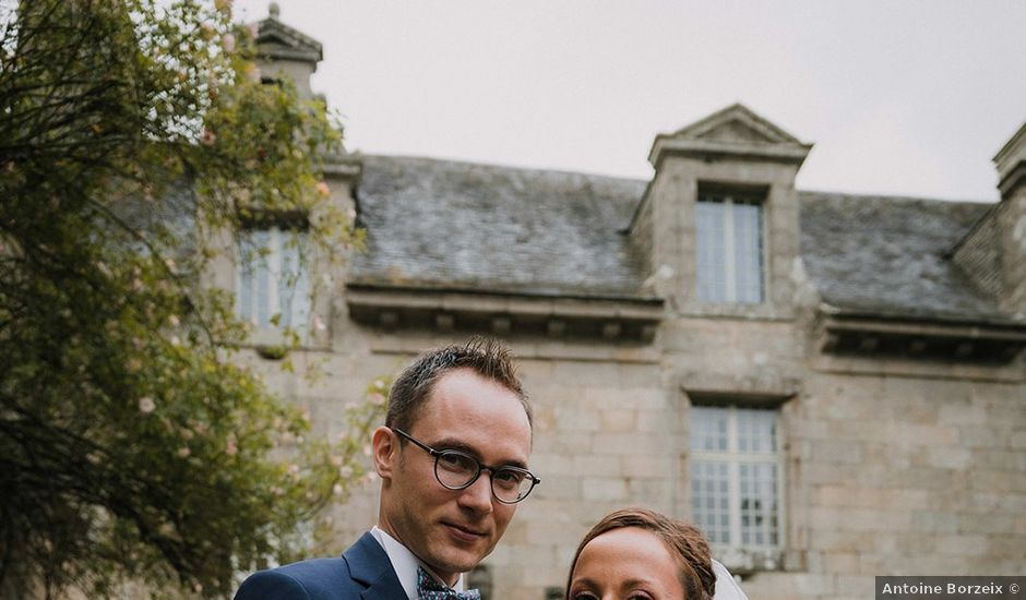 Le mariage de Florian et Maëlle à Bohars, Finistère