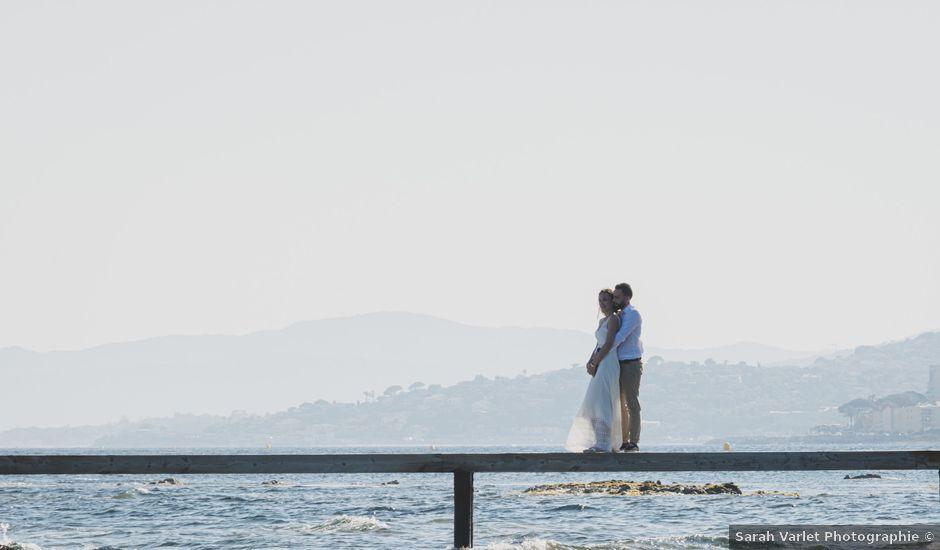 Le mariage de Julien et Anne Sophie à Sainte-Maxime, Var