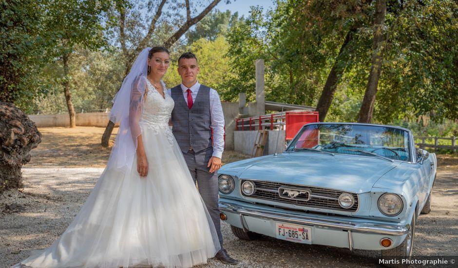 Le mariage de Yohann et Maëva à Sauzet, Gard