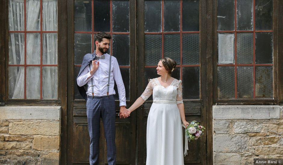Le mariage de Yannick et Chloé à Arbois, Jura