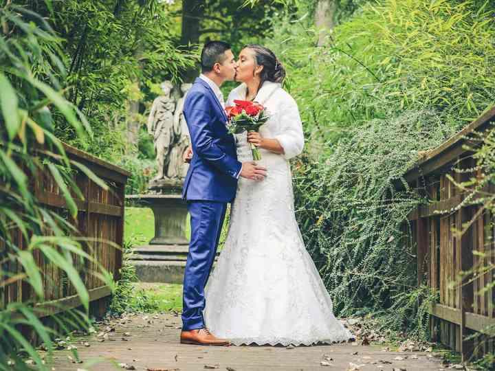 Le mariage de Séverine et Christophe
