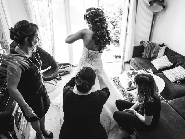 Le mariage de Stephen et Laura à Vétraz-Monthoux, Haute-Savoie 7