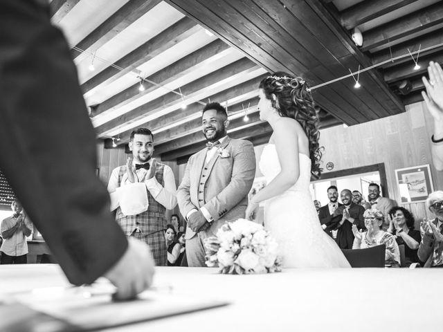 Le mariage de Stephen et Laura à Vétraz-Monthoux, Haute-Savoie 10