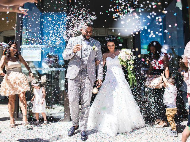 Le mariage de Stephen et Laura à Vétraz-Monthoux, Haute-Savoie 11