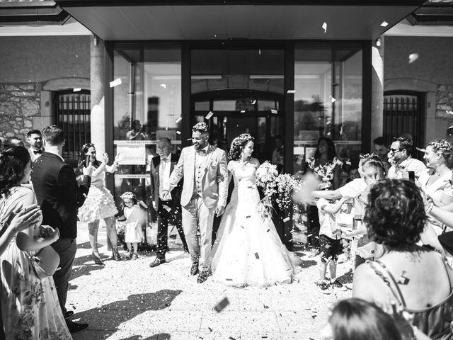 Le mariage de Stephen et Laura à Vétraz-Monthoux, Haute-Savoie 12