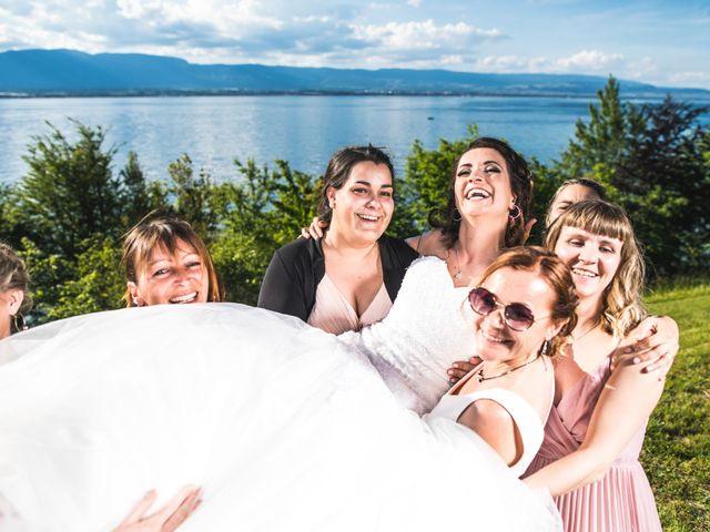 Le mariage de Stephen et Laura à Vétraz-Monthoux, Haute-Savoie 15
